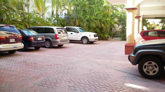 Casa Ginevra: parking