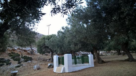 Χώρα της Σκύρου, Ελλάδα: il poeta riposa qui