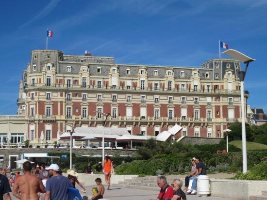 Vue de notre chambre picture of mercure le president for Le jardin hotel mercure