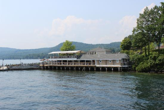 The Pavilion : Another View from Lake George
