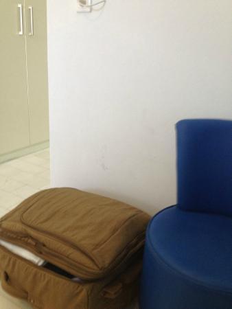 Pandrossos Hotel: 1 Wall