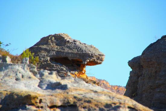 Isalo, Madagaskar: T-Rex Rock