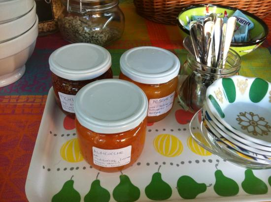 Rosy's Bed & Breakfast: Le marmellate fatte in casa da Tommaso