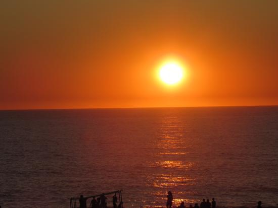Résidence Domaine de l'Agréou : Magnifique coucher de soleil à Seignosse, Août 2015