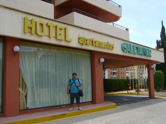 AR Galetamar: Entrada al Hotel