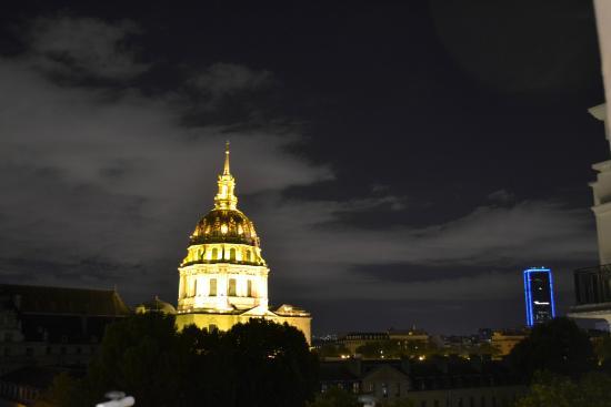 Hotel de l'Empereur: View of Les Invalides