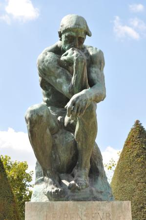 der denker picture of musee rodin paris tripadvisor. Black Bedroom Furniture Sets. Home Design Ideas