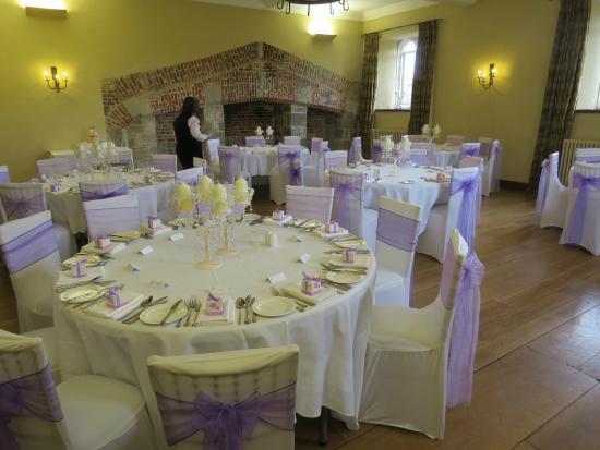 Maidens Tower B&B: The Wedding Breakfast