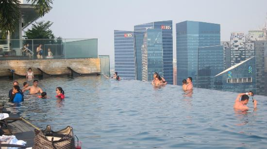 Marina Bay Sands Hotel Swimming And Selfies Picture Of Marina Bay Sands Singapore Tripadvisor