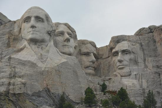 Keystone, Dakota du Sud : Monte Rushmore National Memorial