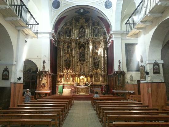 Hotel Palacios : une petite église dans la vieille ville