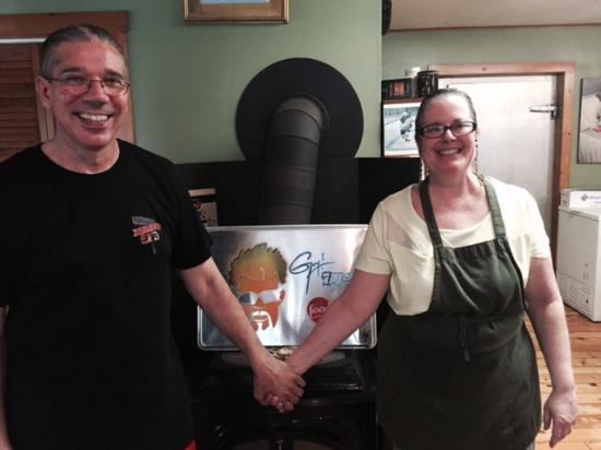 Dana's Kitchen : Hard work earns TV show