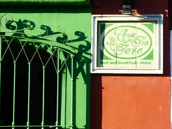 Casa de la Tia Tere : FACHADA MURGUIA