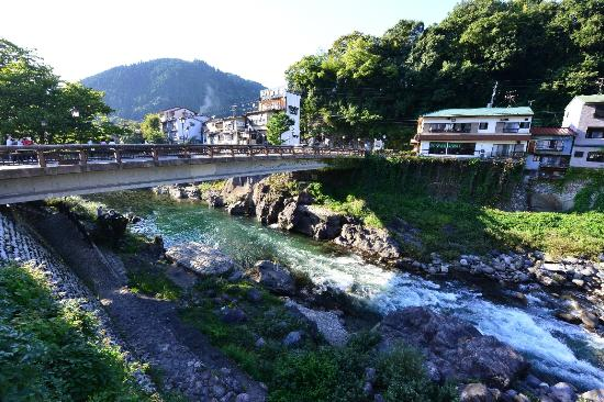 Gujo, Japan: ここが町の中心部