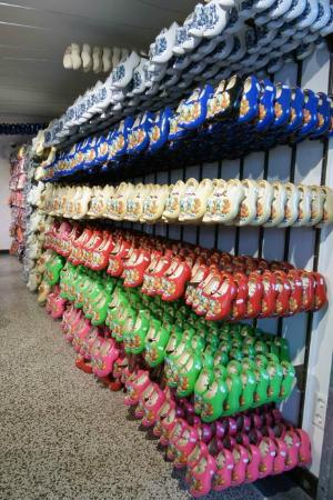 Wooden Shoes Picture Of The Dam Square Souvenirs Amsterdam