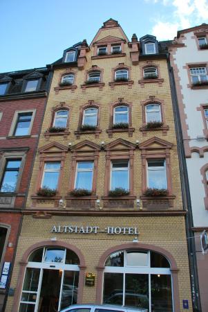 Altstadt Hotel : Здание отеля