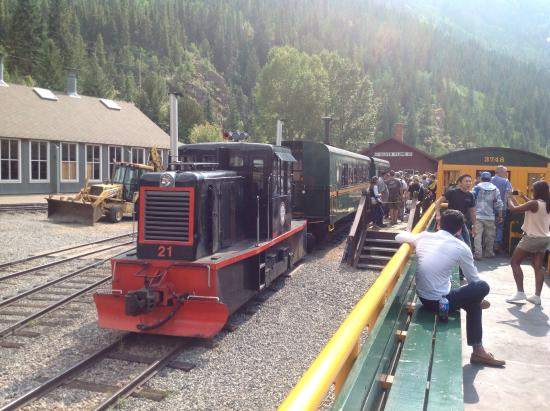 Georgetown Loop Historic Railroad: Train ride