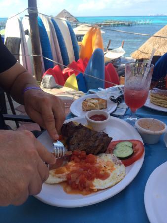 Casa de los Suenos: Platillo de cortesía en el almuerzo delicioso