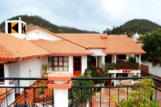 Hotel Casa Kolping Sucre: Vista Externa de Recepción