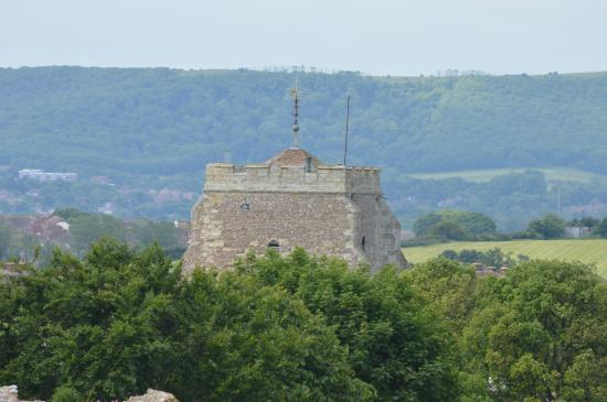 The Limes Bed & Breakfast : View from Pevensey Castle