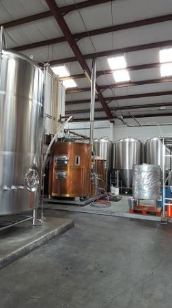 Mehana Brewing Company : Brewing equipment all shiny and pretty
