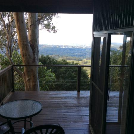 Treetops Montville: The view from the deck overlooking treetops