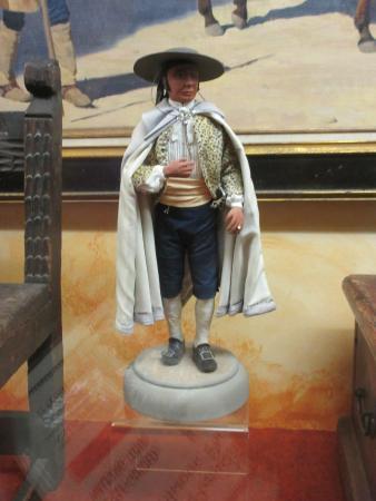 Tubac, AZ: inside museum