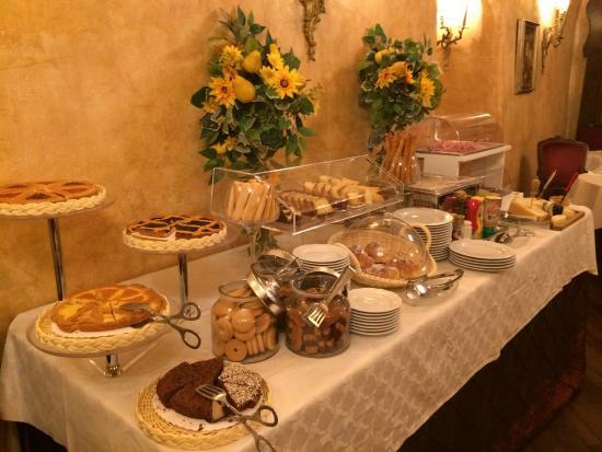 Breakfast spread Picture of Boutique Hotel Campo de Fiori Rome