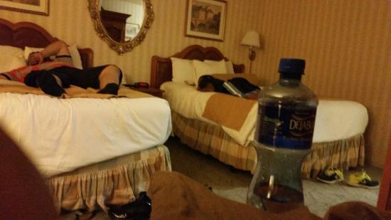 Paris Las Vegas: room view