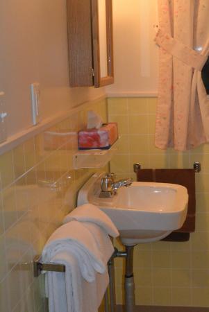 St. Lawrence Motel: Washroom
