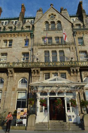 Best Western Duke Of Cornwall Hotel: Entry