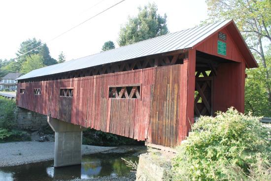 Northfield Covered Bridges: Northfield Covered Bridge by Chris Lance