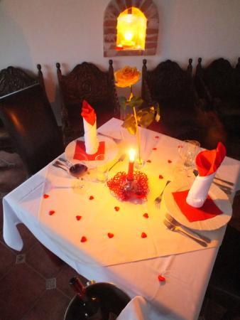 Hotel Majolika : romantická večera vo veži
