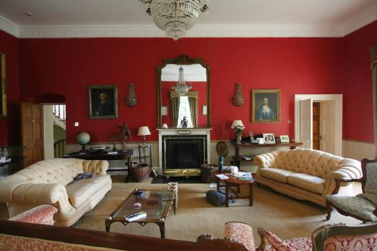 Lisdonagh Manor House: Main living room