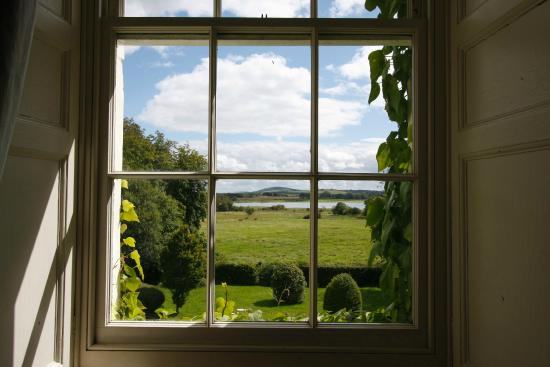 Lisdonagh Manor House: View from the front bedroom