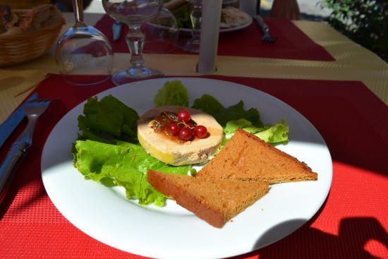 Revest-les-Roches, فرنسا: Foie gras