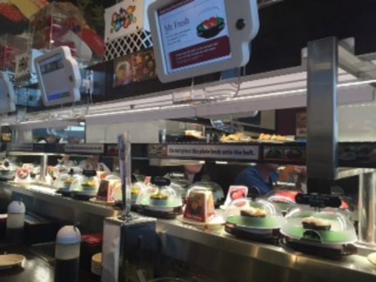 Kula Revolving Sushi Bar San Diego Restaurant Reviews