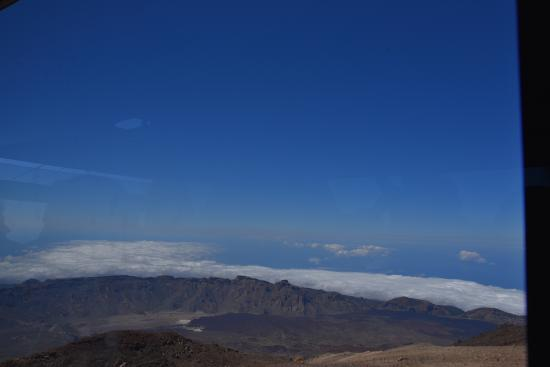 Teide National Park: View from in the Cable Car