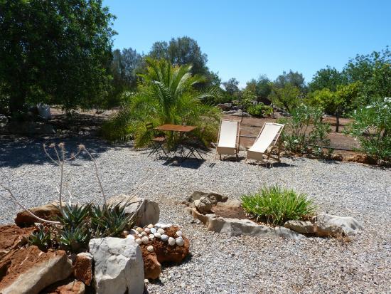 Pedras Verdes Guesthouse: notre terrasse