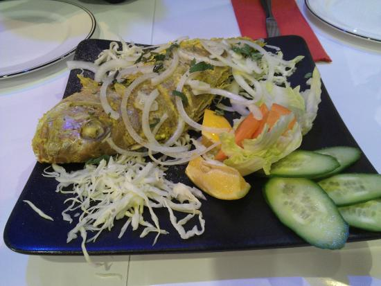 Fish picture of saffron fine indian cuisine auckland for Ajadz indian cuisine auckland