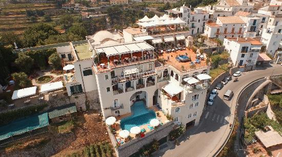 Hotel Bonadies: Vista aerea della nostra struttura.
