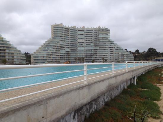 San Alfonso del Mar: The large pool!