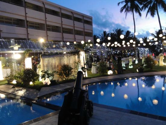 Paradise Beach Hotel Wedding Night