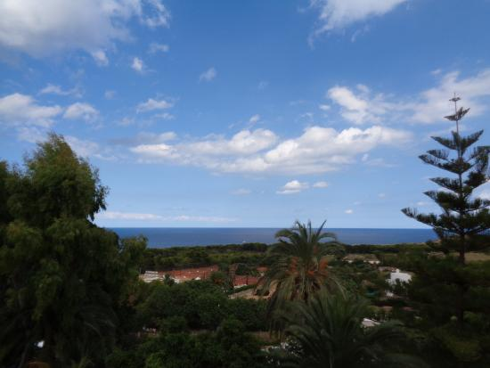 Na Taconera: Aussicht vom Balkon