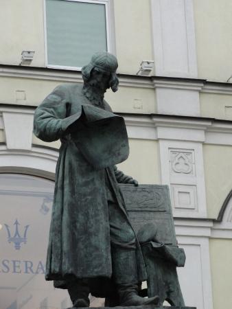 Monument to Printing Pioneer Ivan Fedorov
