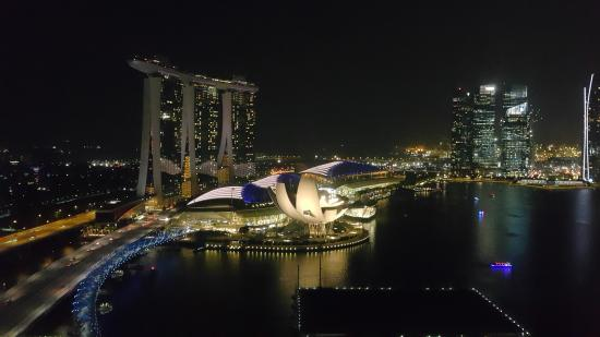 The Ritz-Carlton, Millenia Singapore: Marina Bay at night