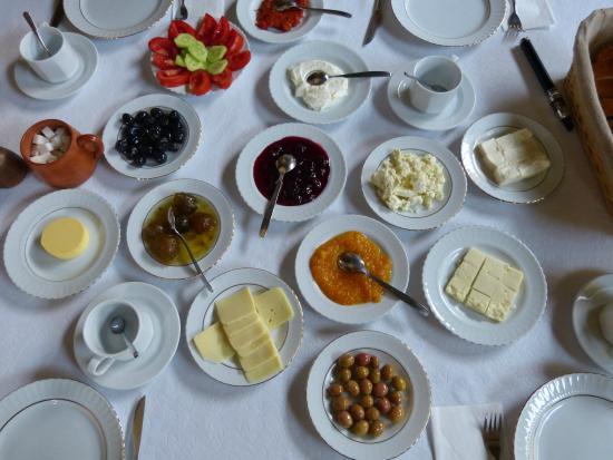 Old Greek House Restaurant and Hotel: Petit déjeuner