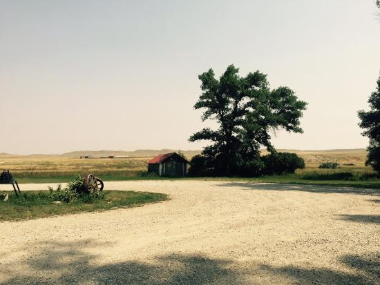 The TA Guest Ranch: Barn