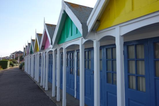 Weymouth, UK: Pretty beach huts