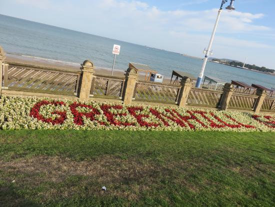 Weymouth, UK: Cleverly planted boarder